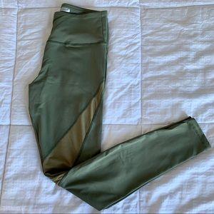 Olive Green Workout Leggings